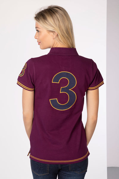 Berry - Lucy Emblem Polo Shirt