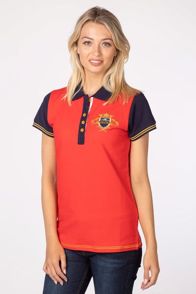 Cherry - Lucy Emblem Polo Shirt