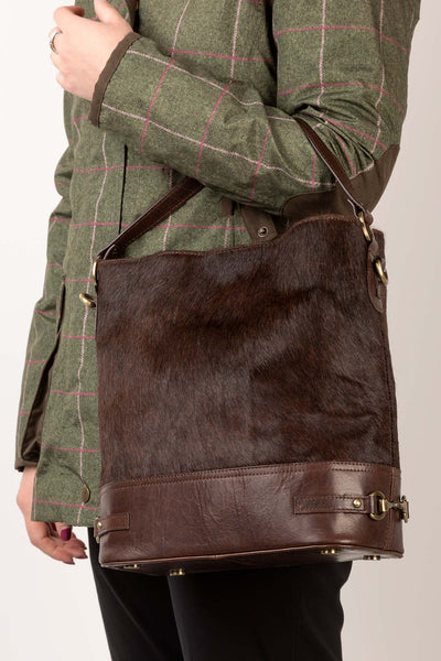 Malham Pony Hair Bucket Bag