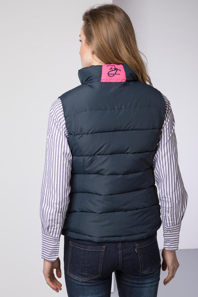 Navy - Malton Gilet Bodywarmer for Women