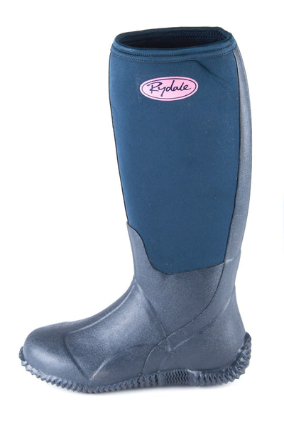Navy - Soft Top Riding Wellingtons
