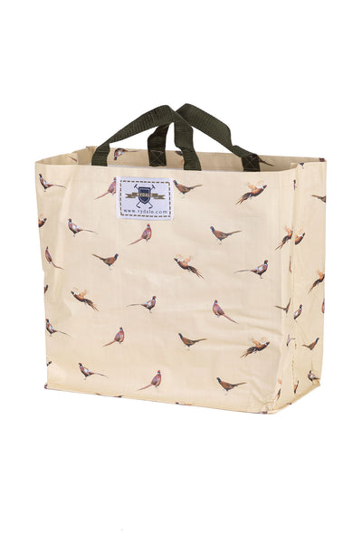 Pheasants - Patterned Shopper Bag Medium