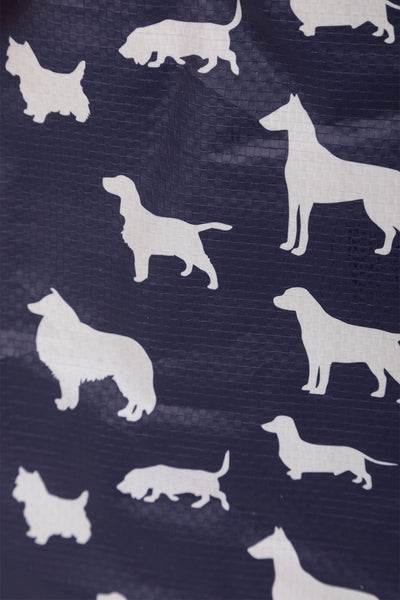 Dogs - Patterned Shopper Bag Medium