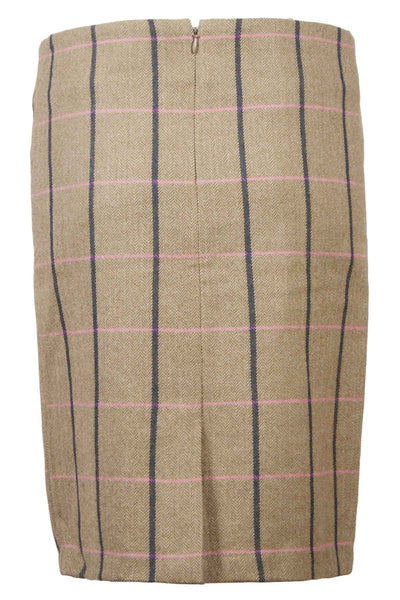 Megan - Long Tweed Skirt
