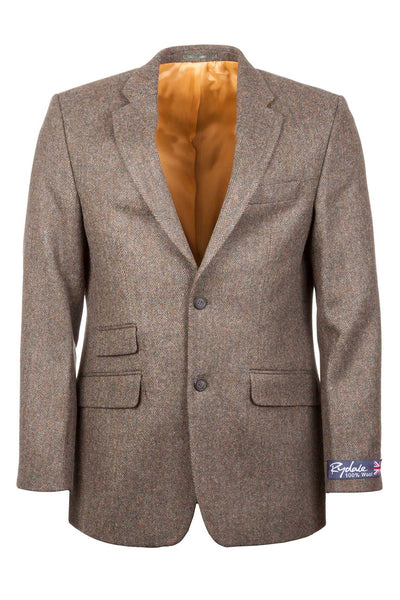 Men's Green Tweed Jacket - Millington
