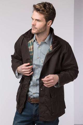 Mens Cawood Wax Jacket