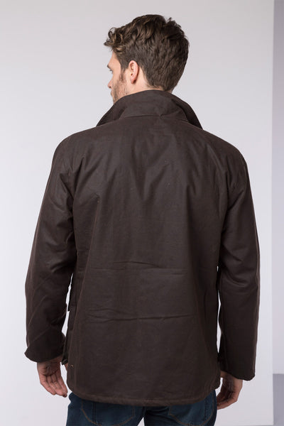 Brown - Mens Cawood Wax Jacket