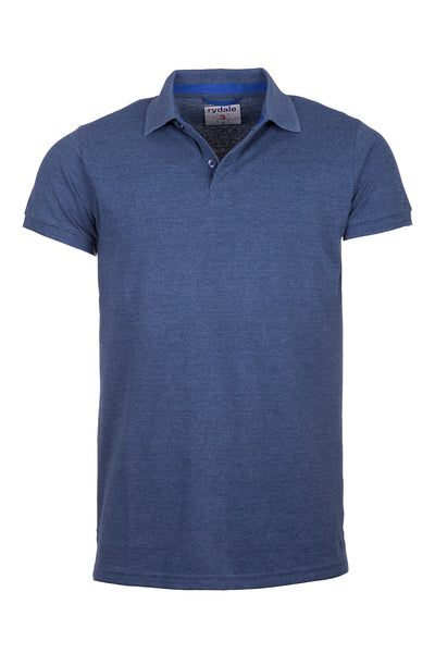 Denim Marl - Classic Polo Shirt