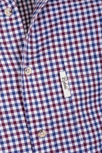 Ferriby Claret - Men's Country Check Shirt