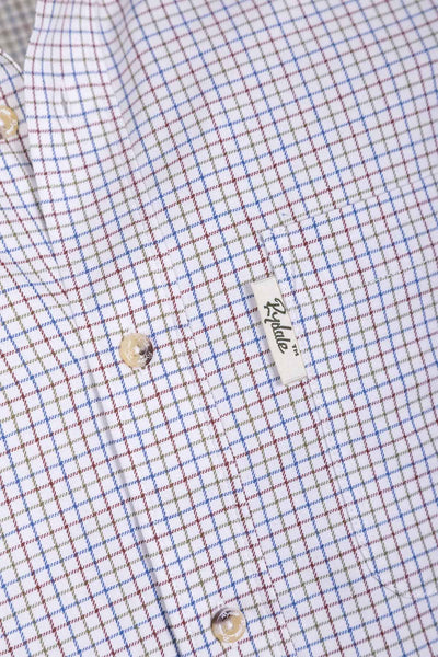Halifax Blue - Men's Country Check Shirt