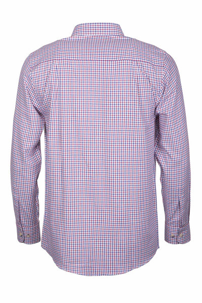Shipley Blue/Red - Men's Country Check Shirt