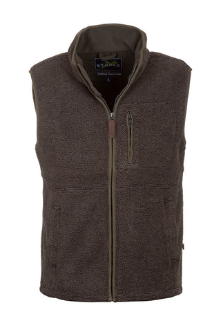Olive - Mens Cowlam Fleece Gilet