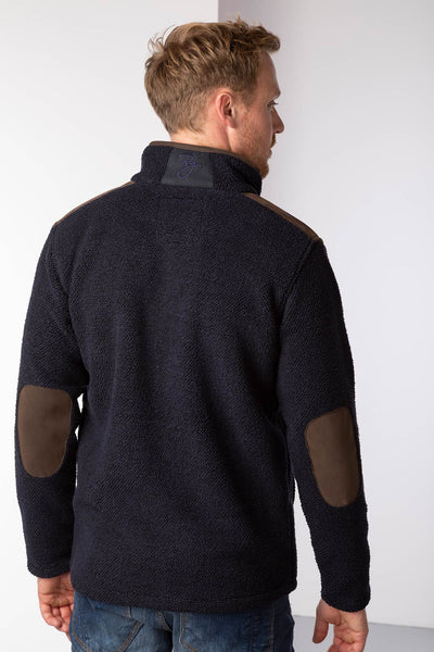 Navy - Mens Cowlam Fleece Jacket