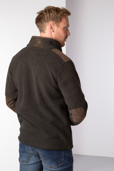 Olive - Mens Cowlam Fleece Jacket