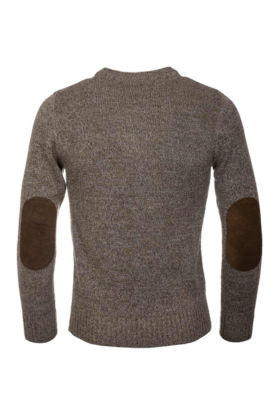 Derby Tweed - Men's Crew Neck Shooting Jumper - Wykeham