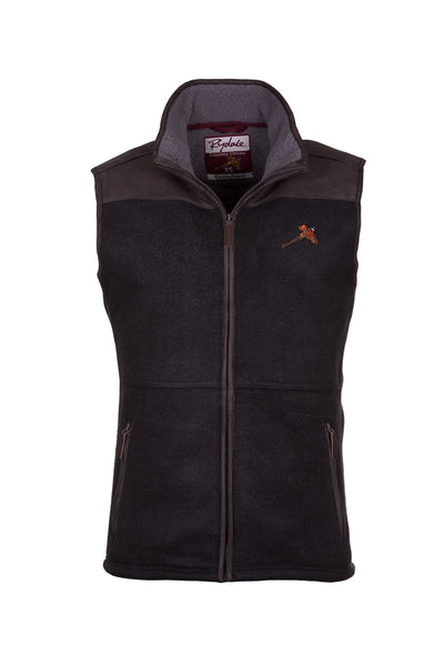 Iron - Men's Garton II Fleece Gilet Pheasant Motif