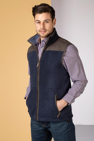 Men's Garton II Fleece Gilet Ry Motif