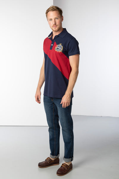 Navy - Men's Beadlam III Polo Shirt