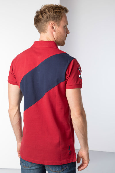 Red - Men's Beadlam III Polo Shirt