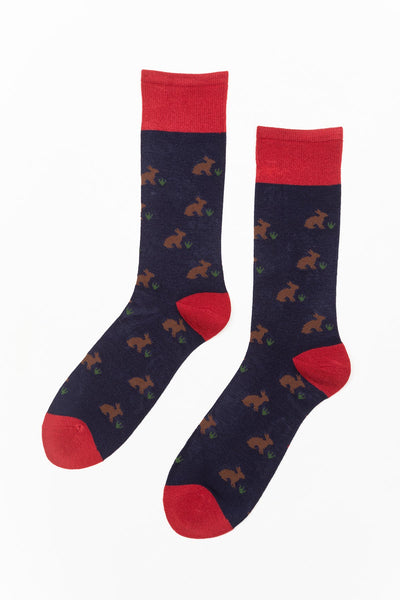 Navy - Men's Hare Socks