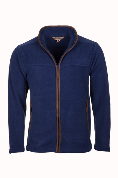 Dark Denim - Mens Huggate Fleece Jacket