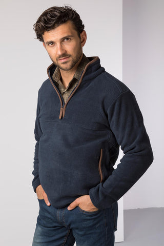 Ink - Mens Huggate Overhead Fleece