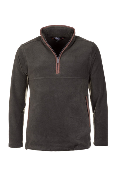 Khaki - Mens Huggate Overhead Fleece