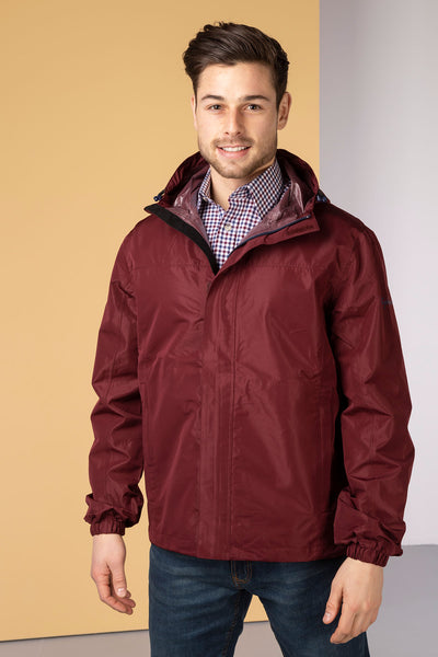 Claret - Mens Jacket in a Packet