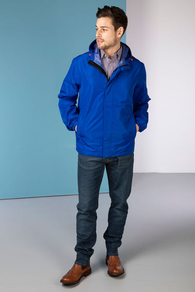Royal Blue - Mens Jacket In A Packet