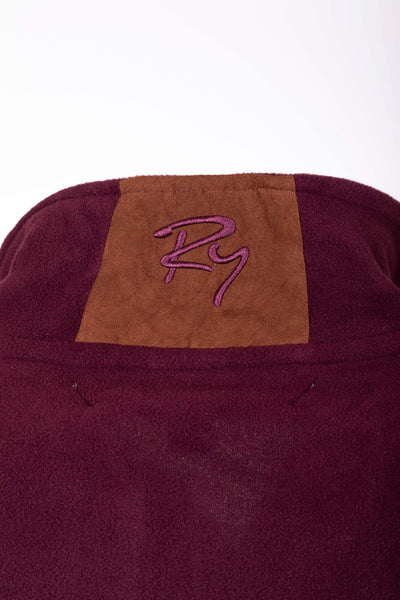 Burgundy - Men's Kelk Overhead Pheasant Fleece