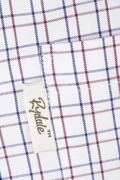 Kelk White - Country Check Shirt