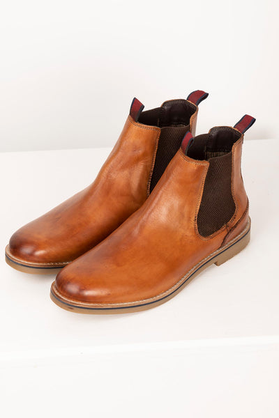 Antique - Mens Kiplin II Leather Chelsea Boots