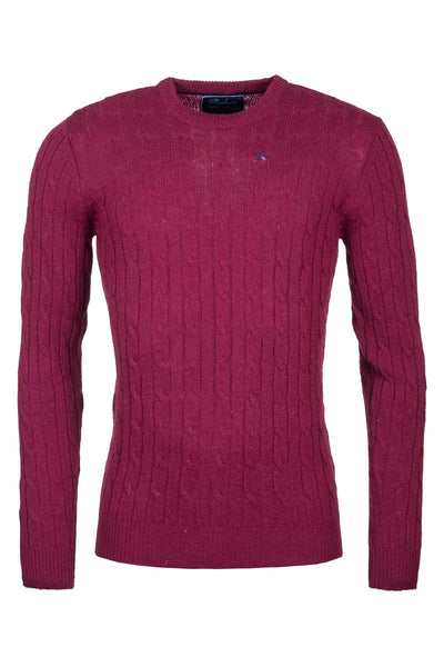Mulberry - Mens Classic Crew Neck Sweater