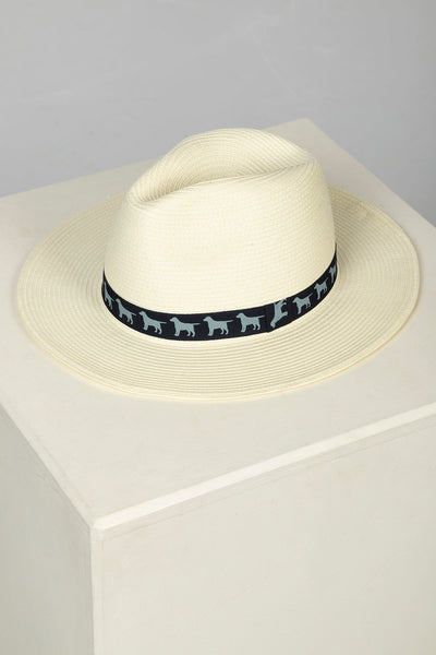 Navy - Men's Panama Style Hat
