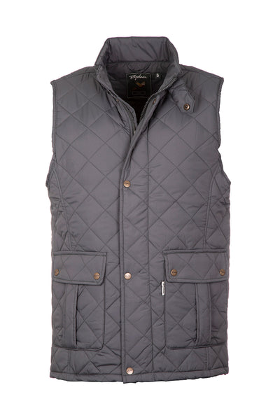 Olive - Men's Quilted Waistcoat - Settle