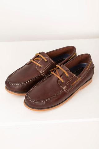 Brown - Mens Sandsend II Deck Shoes