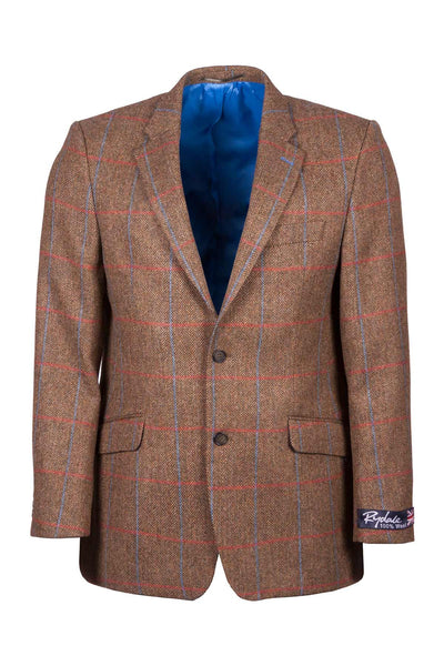 Men's Fitted Tweed Jacket - Thirsk