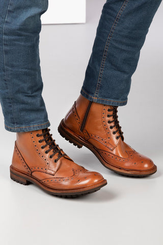 Wetherby Brogue Boot