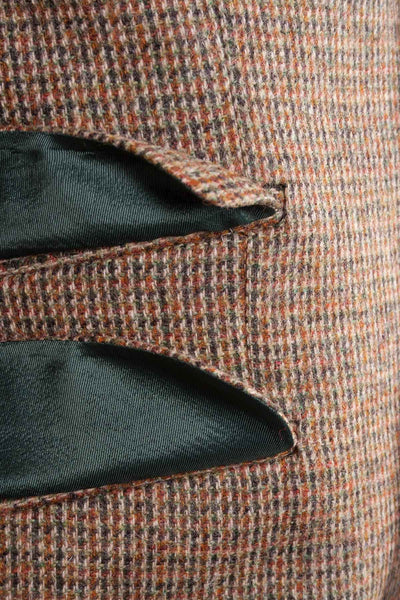 Men's Light Brown Tweed Jacket - Wetherby