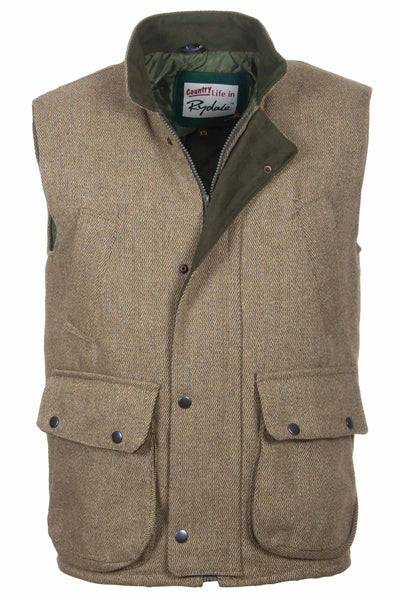 Plain - Derby Tweed Gilet
