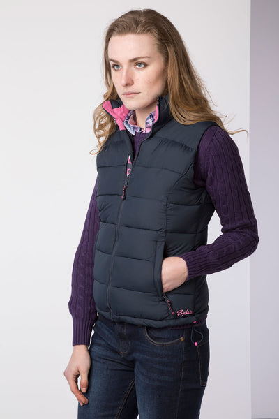 Navy - Ladies Middleham Gilet