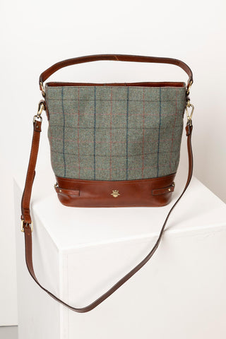 Middleham Tweed Bucket Bag