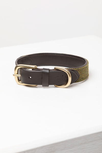 Heathland - Tweed Dog Collar - Middleham