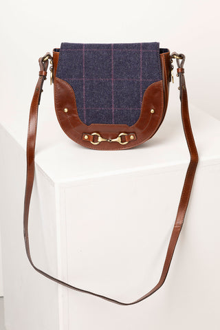Middleham Tweed Saddle Bag