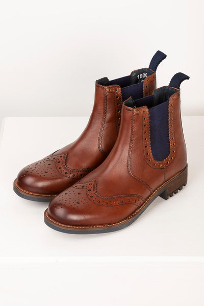 Antique - Millington Brogue Dealer Boots