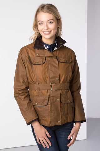 Milly II Belted Wax Jacket