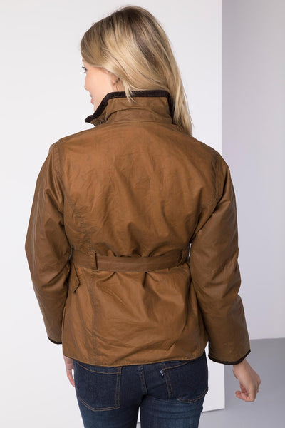 Tan - Milly II Belted Wax Jacket