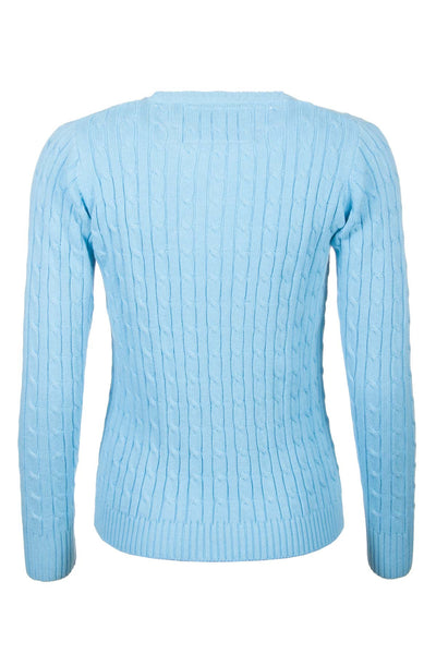 Misty - V Neck Cable Knit Sweater