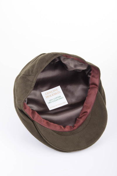 UK Made Moleskin Cap