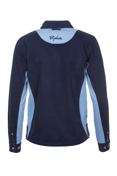 Navy/Ice Blue - Ladies Muston Deckshirt